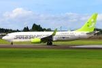 Kuuさんが、鹿児島空港で撮影したソラシド エア 737-81Dの航空フォト(飛行機 写真・画像)