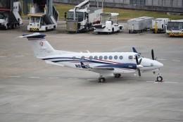 kumagorouさんが、仙台空港で撮影したユタ銀行 King Air 350iの航空フォト(写真)