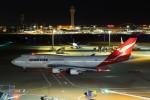 まったり屋さんが、羽田空港で撮影したカンタス航空 747-438/ERの航空フォト(写真)