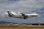 Gambardierさんが、伊丹空港で撮影した全日空 747SR-81の航空フォト(写真)