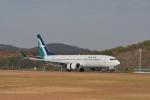 デデゴンさんが、広島空港で撮影したシルクエア 737-8-MAXの航空フォト(写真)