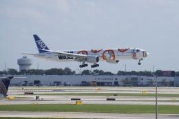 JA1118Dさんが、オヘア国際空港で撮影した全日空 777-381/ERの航空フォト(飛行機 写真・画像)