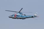 ショウさんが、名古屋飛行場で撮影した沖縄県警察 A109E Powerの航空フォト(写真)