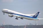 NISSY(NSY)さんが、羽田空港で撮影した全日空 777-381/ERの航空フォト(写真)
