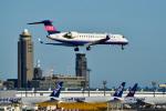 パンダさんが、成田国際空港で撮影したアイベックスエアラインズ CL-600-2C10 Regional Jet CRJ-702ERの航空フォト(写真)