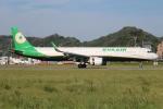 てくてぃーさんが、松山空港で撮影したエバー航空 A321-211の航空フォト(写真)