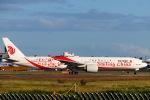 スカイチームKMJ なぁちゃんさんが、成田国際空港で撮影した中国国際航空 777-39L/ERの航空フォト(写真)