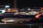 kina309さんが、羽田空港で撮影したカンタス航空 747-438の航空フォト(写真)