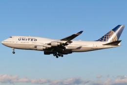 ハスキーさんが、成田国際空港で撮影したユナイテッド航空 747-422の航空フォト(飛行機 写真・画像)