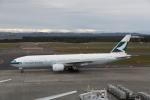 ATOMさんが、新千歳空港で撮影したキャセイパシフィック航空 777-267の航空フォト(飛行機 写真・画像)