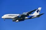 kamerajiijiさんが、成田国際空港で撮影したマレーシア航空 A380-841の航空フォト(写真)