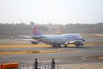 ふじいあきらさんが、成田国際空港で撮影したチャイナエアライン 747-409の航空フォト(飛行機 写真・画像)