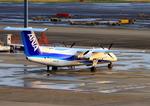 ふじいあきらさんが、羽田空港で撮影したANAウイングス DHC-8-314Q Dash 8の航空フォト(写真)
