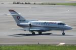 SFJ_capさんが、成田国際空港で撮影したエア・メディカル・サービス BAe-125-800Aの航空フォト(写真)
