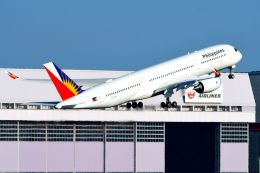 まいけるさんが、羽田空港で撮影したフィリピン航空 A350-941XWBの航空フォト(写真)