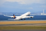 契丹さんが、中部国際空港で撮影したルフトハンザドイツ航空 A340-642の航空フォト(写真)