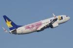 Somaさんが、羽田空港で撮影したスカイマーク 737-86Nの航空フォト(写真)