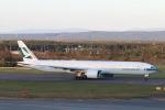 funi9280さんが、新千歳空港で撮影したキャセイパシフィック航空 777-367/ERの航空フォト(飛行機 写真・画像)