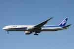 小牛田薫さんが、成田国際空港で撮影した全日空 777-381/ERの航空フォト(写真)