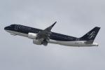 キイロイトリさんが、関西国際空港で撮影したスターフライヤー A320-214の航空フォト(写真)
