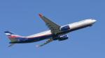 パンダさんが、成田国際空港で撮影したアエロフロート・ロシア航空 A330-343Xの航空フォト(飛行機 写真・画像)