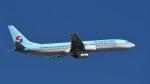 パンダさんが、成田国際空港で撮影した大韓航空 737-9B5の航空フォト(飛行機 写真・画像)