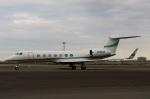 スポット110さんが、羽田空港で撮影したメルク・シャープ・アンド・ドーム・コープ G-V-SP Gulfstream G550の航空フォト(写真)