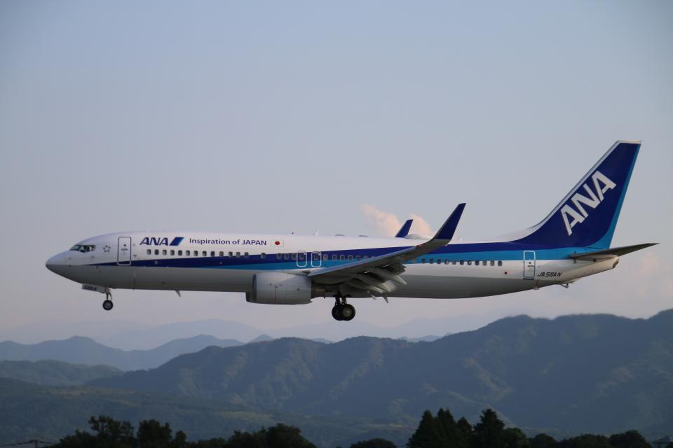 myoumyoさんの全日空 Boeing 737-800 (JA56AN) 航空フォト