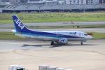 ゆう改めてさんが、福岡空港で撮影したANAウイングス 737-54Kの航空フォト(写真)
