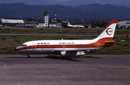 ITM58さんが、小松空港で撮影した南西航空 737-2Q3/Advの航空フォト(飛行機 写真・画像)