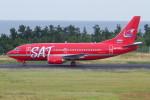 よんまるさんが、鳥取空港で撮影したオーロラ 737-5L9の航空フォト(飛行機 写真・画像)