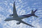 ちゃぽんさんが、成田国際空港で撮影したタイ国際航空 A350-941XWBの航空フォト(写真)