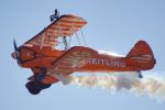 ちゃぽんさんが、アバロン空港で撮影したアエロ・スーパー・バティックス PT-17 Kaydetの航空フォト(写真)
