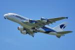 ちゃぽんさんが、成田国際空港で撮影したマレーシア航空 A380-841の航空フォト(飛行機 写真・画像)