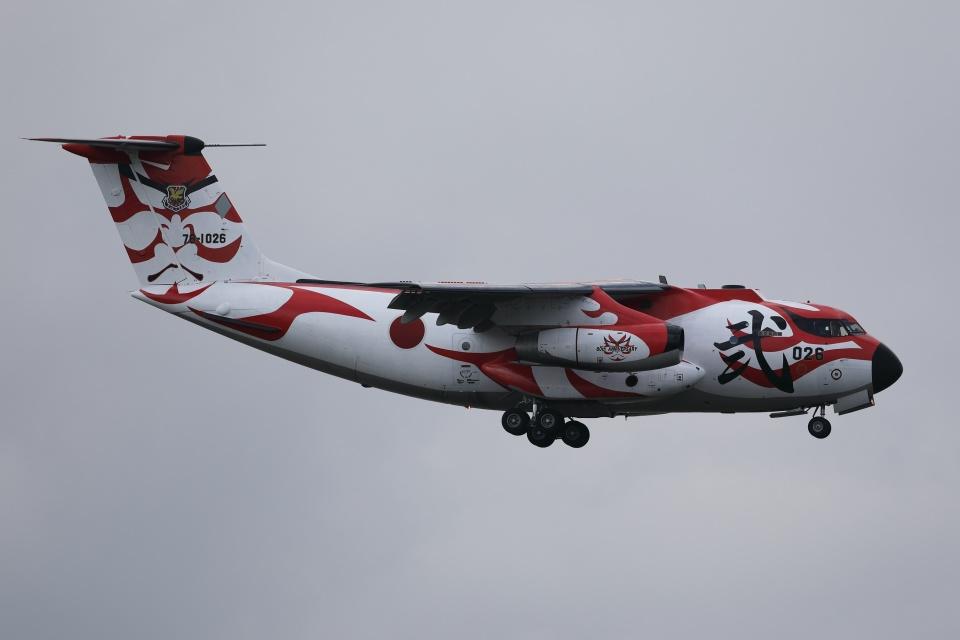 soiwbusさんの航空自衛隊 Kawasaki C-1 (78-1026) 航空フォト