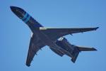 ちゃぽんさんが、成田国際空港で撮影したウィルミントン・トラスト・カンパニー BD-700 Global Express/5000/6000の航空フォト(飛行機 写真・画像)