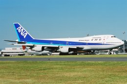 ゴンタさんが、羽田空港で撮影した全日空 747-281Bの航空フォト(飛行機 写真・画像)