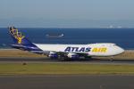 yabyanさんが、中部国際空港で撮影したアトラス航空 747-412F/SCDの航空フォト(飛行機 写真・画像)