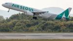 coolinsjpさんが、広島空港で撮影したエアソウル A321-231の航空フォト(写真)