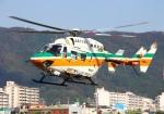 LOTUSさんが、八尾空港で撮影した静岡県消防防災航空隊 BK117C-1の航空フォト(写真)