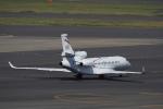 飛行機ゆうちゃんさんが、羽田空港で撮影したダッソー・アビエーション Falcon 8Xの航空フォト(写真)