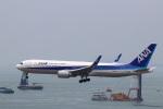 zero1さんが、香港国際空港で撮影した全日空 767-381/ERの航空フォト(写真)