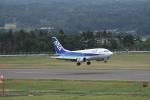 空旅さんが、福島空港で撮影したANAウイングス 737-5L9の航空フォト(写真)