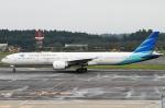 幻想航空 Air Gensouさんが、成田国際空港で撮影したガルーダ・インドネシア航空 777-3U3/ERの航空フォト(写真)