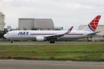 マリオ先輩さんが、横田基地で撮影したエア・トランスポート・インターナショナル 767-323/ER(BDSF)の航空フォト(写真)