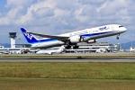 くれないさんが、高松空港で撮影した全日空 787-9の航空フォト(写真)