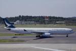 とらとらさんが、成田国際空港で撮影したキャセイパシフィック航空 A330-343Xの航空フォト(飛行機 写真・画像)