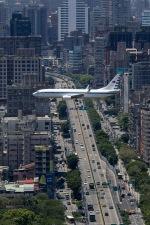 BENKIMAN-ENLさんが、台北松山空港で撮影した中華民国空軍 737-8ARの航空フォト(写真)