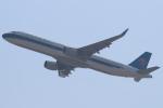 セブンさんが、関西国際空港で撮影した中国南方航空 A321-211の航空フォト(飛行機 写真・画像)