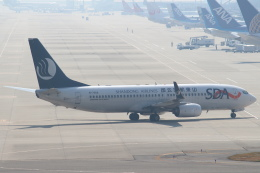 セブンさんが、関西国際空港で撮影した山東航空 737-85Nの航空フォト(飛行機 写真・画像)